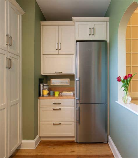 tall utility refrigerator oven cabinets kitchen slim fridge