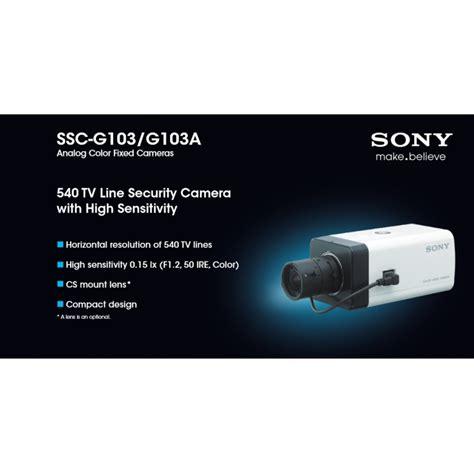 Sony Ssc G103 Analog Cctv กล องวงจรป ด sony ร น ssc g103