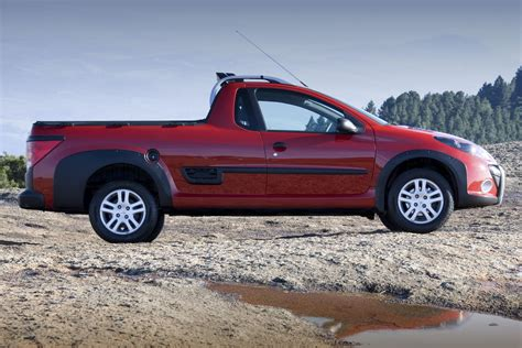 peugeot hoggar pickup truck version   fully revealed carscoops