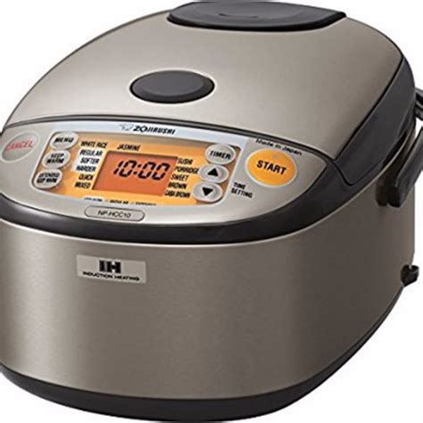zojirushi np hcc10xh induction heating system rice cooker and warmer review