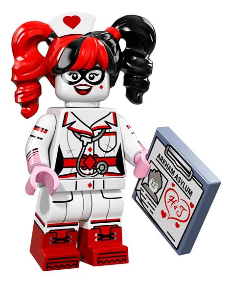 Lego Minifigures Harley Quinn lego 71017 collectible batman minifigures officially