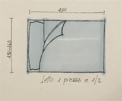 lunghezza letto simple progettare la da letto con le misure with