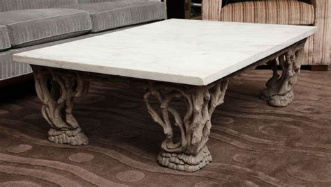 Coffee Table Handmade - handmade marble coffee table at 1stdibs