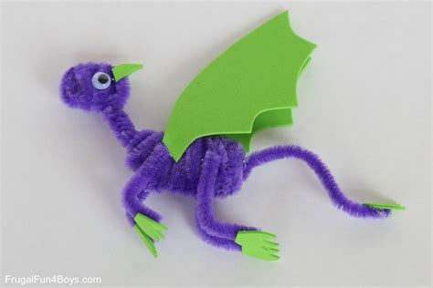 with pipe cleaners pipe cleaner dragons craft for