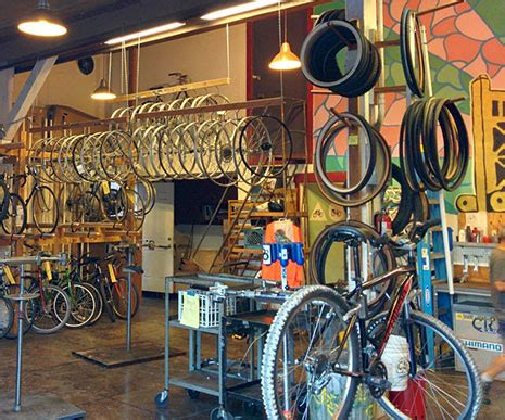 Bike Kitchen by Home Sacramento Bicycle Kitchen