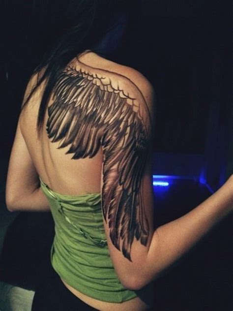 wing shoulder tattoo 100 astonish wing designs to draw