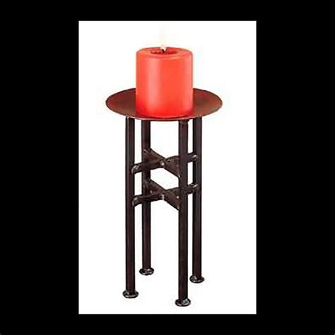 Iron Candle Stick Black 1 Hd 17 candle holder freestanding black iron 11 5 quot h