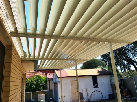 adjustable awnings louvre patio cover with adjustable 160mm louvers blades in