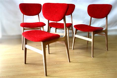 ellies upholstery retro mid s dining chairs ellies upholstery furnitu and