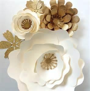 Flower Wall Decor by Paper Flower Wedding Reception Wall Ideas Mid South