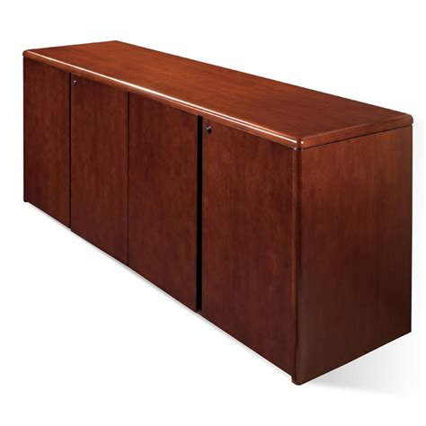 wooden credenza 4 door storage credenza 72x20 cherry wood