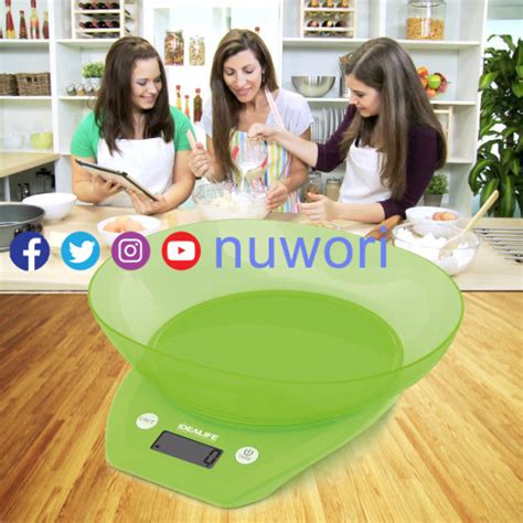 Timbangan Kue Di Lazada digital kitchen scale timbangan dapur il 210 nuwori