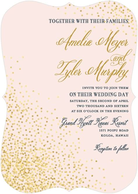 Wedding Paper Divas Location by Effervescent Sparkle Invitation By Wedding Paper Divas