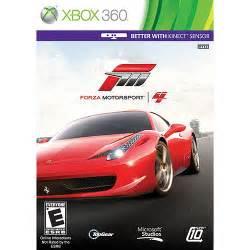 new xbox 360 car forza motorsport 4 xbox 360 forza motorsport