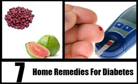 7 home remedies for diabetes treatments cure