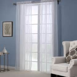 Sheer Bedroom Curtains White Solid Curtains For Windows Modern Style Curtains For Living Room Bedroom Sheer Curtain