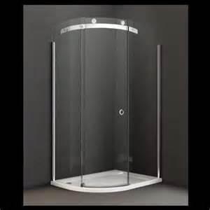 Merlyn series 10 offset quadrant frameless shower enclosure 1000mm x