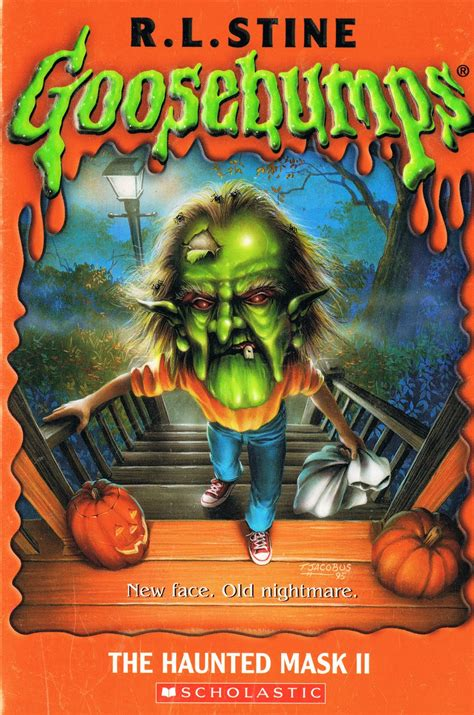 Book Fright Time Creatures Who Am I Etc library of rescued books the haunted mask ii by r l stine