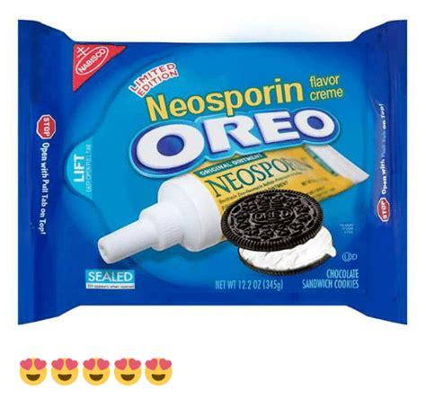 Oreo Meme - ited neosporin flavor creme oreo ormsmalowowu ospo orit