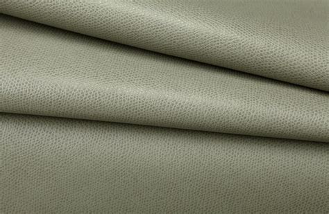 Pleather Vinyl Upholstery Fabric In Shale Grey