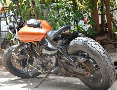 Modified Avenger Bike by Modified Bajaj Avenger 220 By Ornithopter Moto Design
