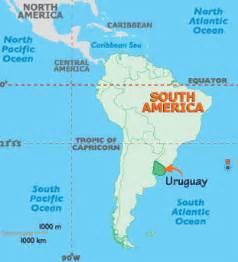 map of south america uruguay uruguay map