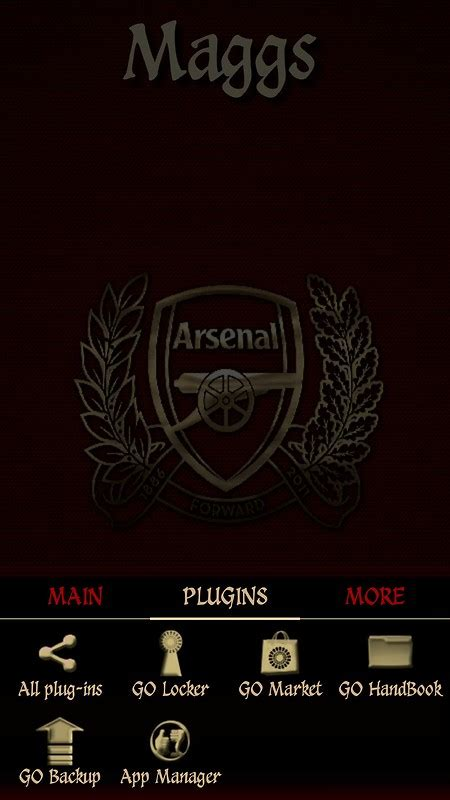 themes android arsenal arsenal fc free android theme download download the free