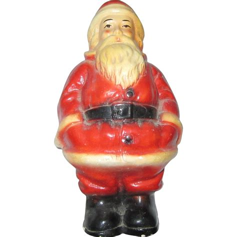 old santa claus bank statue figurine christmas st nicholas