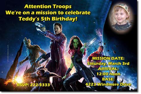 Guardians Of The Galaxy Birthday Invitations Design Online Uprintinvitations Cards On Artfire Guardians Of The Galaxy Invitation Template