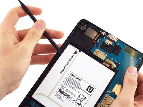samsung galaxy tab a battery replacement ifixit repair guide