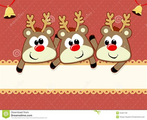 tarjetas de navidad interesantes e impresionantes 小驯鹿圣诞卡 免版税库存图片 图片 34407749