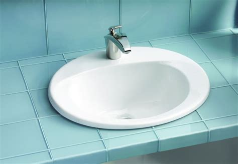 bathroom drops types of popular drop in bathroom sink the homy design