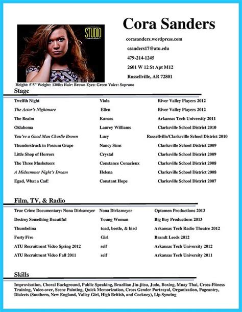 boost career accountant resume template actor resume template gives you more options on how to