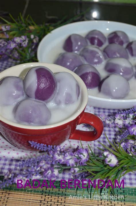 amies  kitchen badak keledek ungu berendam