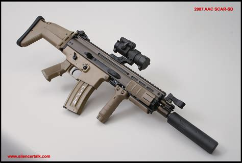 L Aac by Fn Scar With Aac Suppressor Guns And Related Security