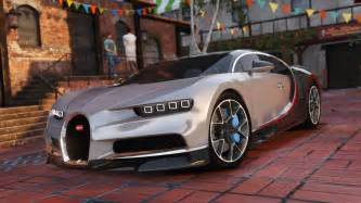 Bugatti On Gta 5 Bugatti Chiron Replace Interior Gta5 Mods