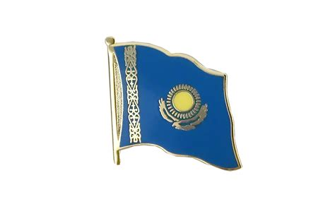 flags of the world kazakhstan flag lapel pin kazakhstan royal flags