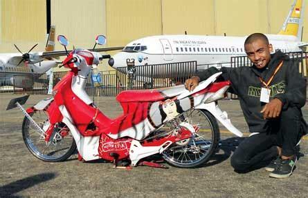 Modif Supra X 125 Surabaya by Honda Supra X 125 08 Makassar Ceper Merah Putih