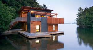 Cottage House Plans With Garage muskoka lakes boathouse well done stuff