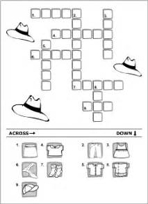 clothes vocabulary for kids learning english printable