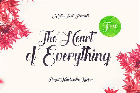 heart   font befontscom