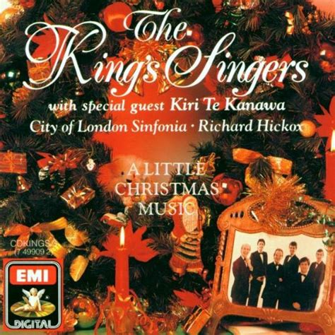 king bach christmas a little christmas music the king s singers