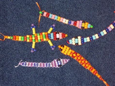 pony bead snake pattern how to make the cutest snakes and lizards out of pony