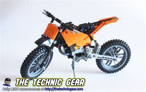 technic motocross bike 42007 moto cross bike review reviews videos