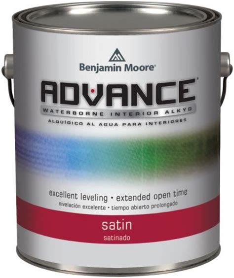 benjamin advance waterborne interior alkyd paint at guiry s color source