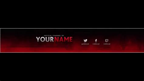 Free Channel Rebrand Template Profile Pic Channel Banner Youtube Channel Banner Template