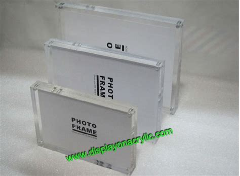 cornici plexiglass confezione 2 unit 224 6x8 pollice plexiglass cornici