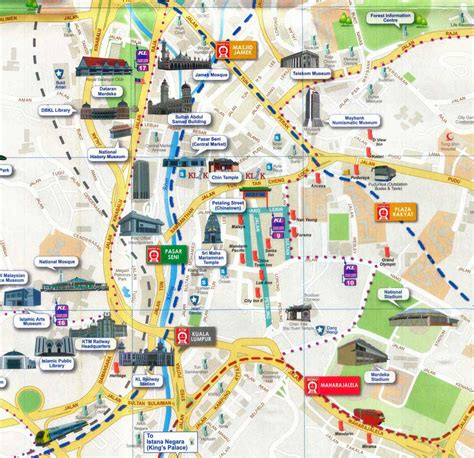 map of tourist attractions 2 kuala lumpur map tourist attractions 2 in world maps