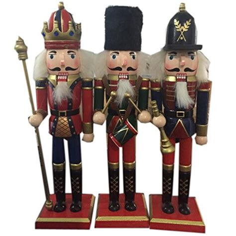 cheap nutcrackers for sale aimeart aimeart 12 quot nutcracker soldier gift standing wooden nutcracker puppets toys