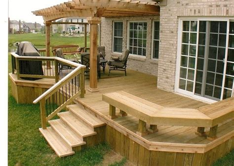 backyard deck images 25 best ideas about backyard deck designs on